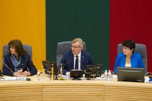 Valdantieji ypač skubiai įsteigė du naujus Seimo vicepirmininkų postus