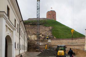 Archeologams ant Gedimino kalno nepavyksta rasti vieno sukilėlio palaikų