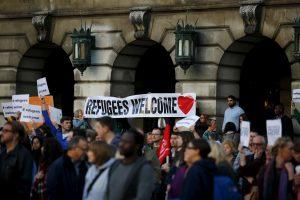 Lietuvoje rengiama pabėgėlių palaikymo akcija