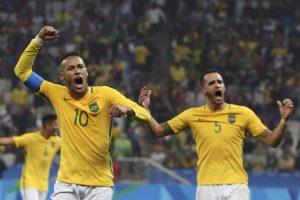 Futbolo turnyro pusfinalyje – Brazilija, Hondūras, Vokietija ir Nigerija