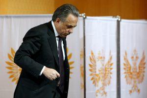 Rusijos sporto ministras išsaugojo futbolo federacijos vadovo postą