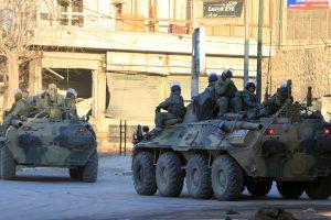 Sirijoje žuvo du Rusijos kariai
