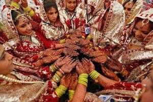 Indijoje per vestuves sugriuvus sienai žuvo 24 žmonės