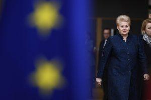 D. Grybauskaitė vyksta į ES 60-mečio minėjimą Romoje