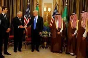 D. Trumpo vizito Saudo Arabijoje derlius – milijardinės sutartys