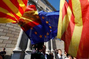 Lietuva gerbia ir remia Ispanijos teritorinį vientisumą