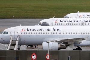 Dėl pilotų streiko atšauktas skrydis iš Vilniaus į Briuselį