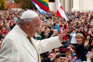 Prezidentė sulaukė popiežiaus padėkos už šiltą priėmimą Lietuvoje