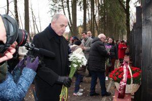 Ant memorialo stalinistinių represijų aukoms – ir lietuviškos pavardės