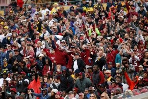 Pasieniečiai rengiasi sirgalių srautams per futbolo čempionatą Rusijoje