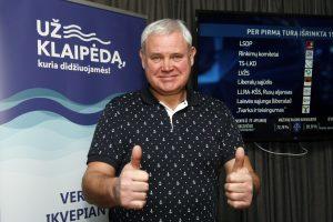 Mūšis dėl Klaipėdos mero posto: V. Grubliauskas švenčia pergalę