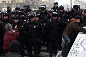 Konstitucijos dienos minėjimas Rusijoje protestuotojams baigėsi liūdnai