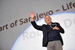 Sarajevo kino festivalį atidarė veiksmo filmų žvaigždė R. De Niro