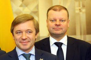 R. Karbauskis pasakė: vienintelis kandidatas į prezidentus – S. Skvernelis