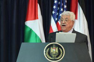Palestiniečių prezidentas atšaukė susitikimą su JAV viceprezidentu