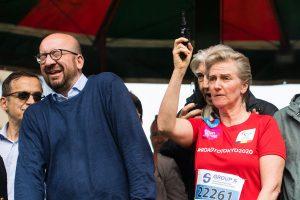Belgijos premjerą apkurtino starto šūvį paleidusi princesė
