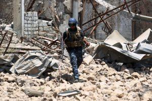 Per JAV aviacijos smūgį žuvo aštuoni irakiečiai