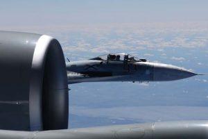 NATO naikintuvai lydėjo ir Rusijos žvalgybinius lėktuvus
