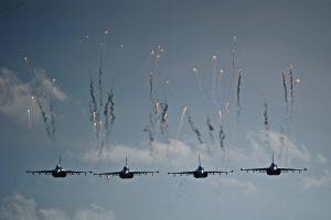 """NATO naikintuvams darbingiausia buvo paskutinė """"Zapad"""" diena"""