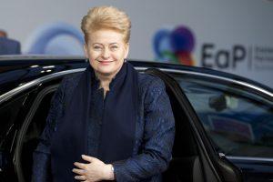 D. Grybauskaitė sakys kalbą moterų lyderių konferencijoje Islandijoje