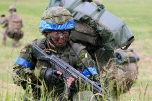 Lietuvos kariai išvyksta į karinę mokymo operaciją Ukrainoje