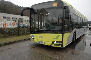 Vilniečiai pirmieji išbandys naujutėlį modernų autobusą