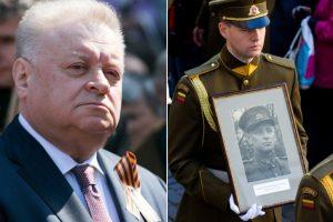 Lietuva atsikirto Rusijai dėl partizanų vado Vanago laidotuvių