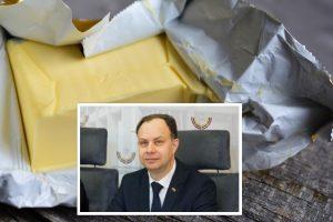 A. Veryga atšaukia rekomendaciją vaikams sviestą keisti margarinu