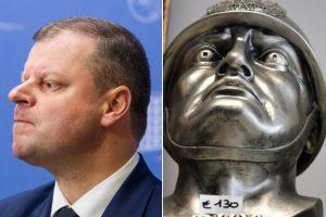 S. Skvernelį sulygino su fašistiniu Italijos diktatoriumi B. Mussoliniu
