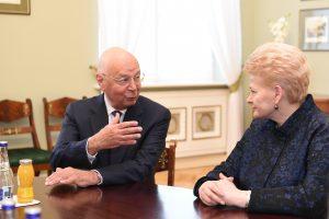 D. Grybauskaitė sulaukė kvietimo į Davoso ekonomikos forumą