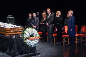 Prezidentė pagerbė V. Noreikos atminimą