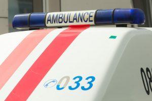 Per avariją Vilniuje sužaloti trys vairuotojai
