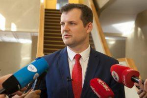 G. Paluckas: man neįdomu, kiek narių trūksta iki formalios Seimo daugumos