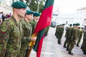 Dar 34 Lietuvos kariai pradeda tarnybą Malyje