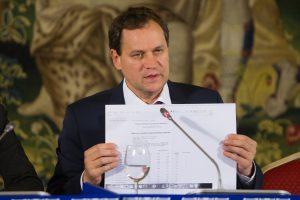 V. Tomaševskis: rinkimų rezultatai galėjo būti klastojami