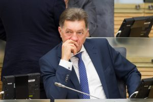 "Eskpremjeras A. Butkevičius apklaustas ""MG Baltic"" byloje"