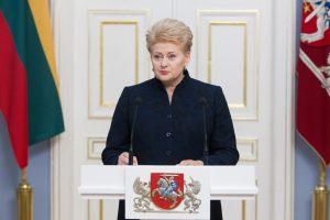 Apklausa: Lietuvos metų žmogus – D. Grybauskaitė, pasaulio – B. Obama