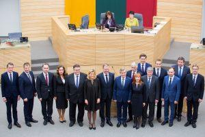 Kurių ministrų pavardės dažniausiai mirgėjo žiniasklaidoje?