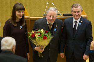 Dėl statuso V. Landsbergiui – nauja versija