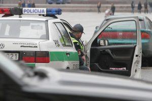 Sustabdytame automobilyje policininkai rado narkotikų