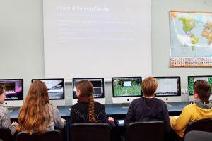 Moksleiviai virtualioje realybėje įamžins Lietuvą po šimto metų