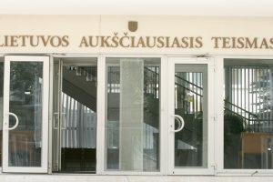 Prezidentė teikia Seimui Aukščiausiojo Teismo teisėjų kandidatūras