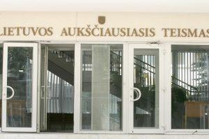 Pasibaigus kadencijai atleidžiama LAT teisėja A. Rakauskienė