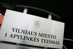 Vilniaus miesto apylinkės teismui vadovaus teisėjas M. Kursevičius