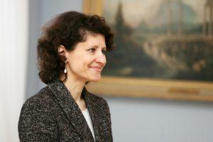 Lietuvos ambasadore Jungtinėse Tautose siūloma A. Plepytė
