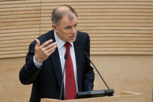Sveikatos ministras V. Andriukaitis: mums reikia daugintis ir veistis!