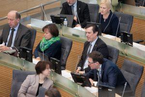Konservatoriai ir liberalcentristai pateikė rinkėjų parašus dalyvauti EP rinkimuose