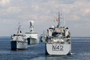 """Estija traukiasi iš Baltijos šalių jūrinės eskadros """"Baltron"""""""
