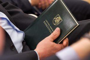 Seimas bandys grįžti prie individualaus konstitucinio skundo