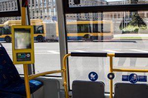Vilniuje autobusas sužalojo moterį